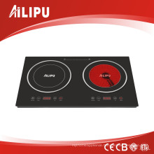 2016 New Induction Cooker and Infrared Cooker with Sensor Touch Control
