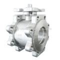 Válvula de bola de acero inoxidable de 1 pulgada personalizada de fundición de precisión