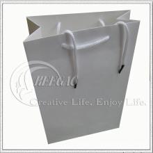 Bolsa de papel blanca para regalo (KG-PB030)