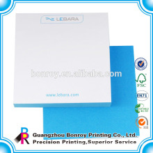 wholesale cheap printed custom shaped stationery notepads