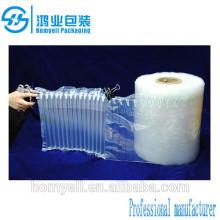 Column Air wrapping sheet/inflatable air tube packaging sheet/air column cushion sheet
