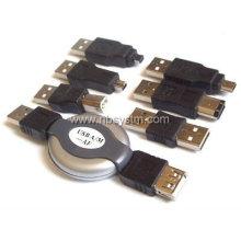 Conjunto de adaptadores USB