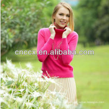 13STC5533 ladies pullover turtleneck cashmere sweaters china