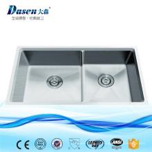 Beliebteste Produkte Benutzerdefinierte Größe handgefertigte achteckigen Edelstahl Küche Inox Sink