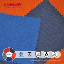Baixa malha de formaldeído aramida tecido retardante de chamas para vestuário