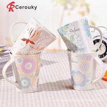 Meets FDA requirements fine porcelain mugs