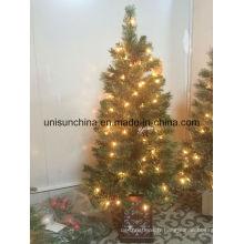 Arbre de Noël en pot 3FT avec lumière incandescente (Sears)