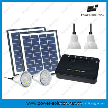 Portable Solar Home Light System with Phone Charger