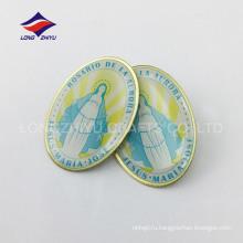 Высокое качество польский handmade напечатанный pin отворотом
