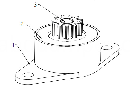 Rotary Damper For Small Household Appliance