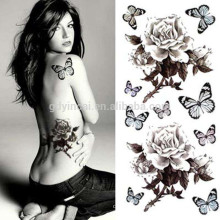 Simulation Butterfly Style personality water transfer tattoonon-taxic tempoary tattoos