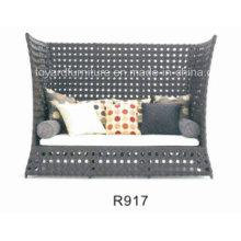 Modern Outdoor Leisure Hotel Furniture Rattan Wicker Daybed (R917)
