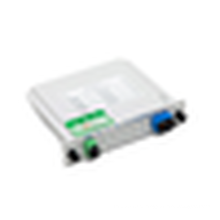 SC / PC 1 X 8 chip inserido fibra óptica PLC splitter, baixa inserção perda fibra acoplador plc divisor
