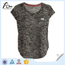 Frauen Breathable Plain Jersey Blank Running Wear