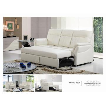 Sofá elétrico reclinável EUA L & P sofá do mecanismo para baixo do sofá (722 #)