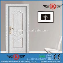 JK-SW9633 pure white main steel wood bedroom door design