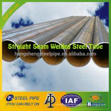ASTM A53 GR B Tubo de acero soldado de costura recta