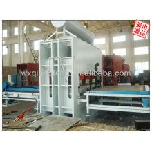 1830 * 2750mm Usbekistan Markt kurzer Zyklus Heißpresse Maschine für funiture Board machen