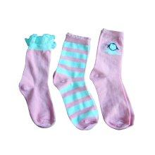 Calcetines niña con encaje arco apuesto calcetería de Super buena calidad