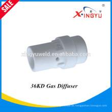Hohe Qualität und Fabrik Preis BW36KD luftgekühlte MIG / MAG / CO2 Schweißbrenner Gas Diffusor