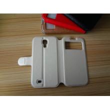 Мобильный телефон книга Чехол Премиум флип кожаный Телефон Чехол для Samsung Галактики S4