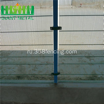 Galvanized+Green++3+Twist+Metal+Fence