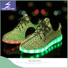 Deportes Olímpicos zapatos LED USB de carga de la luz de Navidad