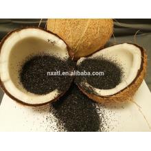 Скорлупы кокосового ореха активированного угля
