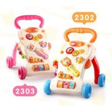 Caminhantes de bebê plásticos baratos feitos sob encomenda da música inteligente dos caminhantes do bebê da música