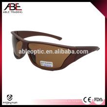 Alta calidad barato Flip personalizado hasta gafas de sol deportivas