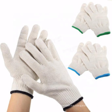 Wholesale 100% cotton glove Knitted Cotton Gloves Protective Industrial Work Gloves Labor protection gloves for sale