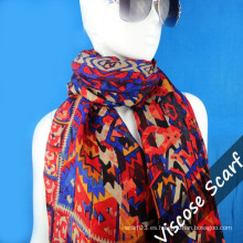 Nuevo diseño de lana larga bufanda