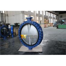 Dn750 U Секция фланцевый клапан-бабочка с Ce ISO Wras утвержденных (CBF01-TU01)