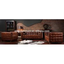 Conjunto de sofá da sala de estar do estilo americano A634