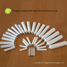 Tube simple en aluminium pour les produits cosmétiques