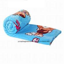 Ar Condicionado Desenhos Animados Coral Velvet Blanket