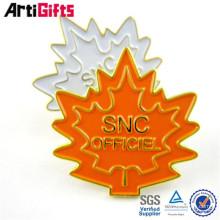 Bastón metálico personalizado de encargo de las insignias