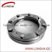 Sanitary Stainless Steel Round Flanged Sight Glass