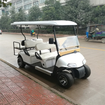 4 seater gas powered golf carts with CE