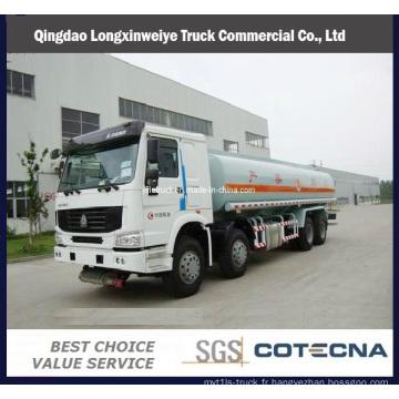 Réservoir de carburant de 8 X 4 camion de SINOTRUK HOWO résistant 336HP