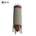 Mini cement bolted silo price for concrete mixer