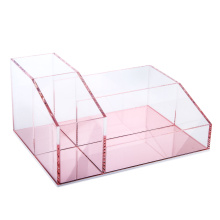 Органайзер Vanity Makeup Organizer Pink Mirror Base