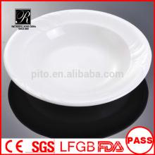 Fábrica da porcelana de P & T, placas profundas, placas da massa