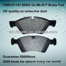 D1123 OE QUALITY Niedriger Metall-Scheibenbremsbelag für BENZ ML350