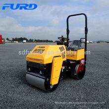 FYL-880 1 ton Nuevos productos Mini Vibro Road Roller para compactación