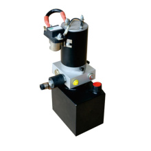 Hydraulic power unit for mini electric stacker