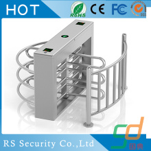 Stasiun Subway Waterproof Half Height Turnstile
