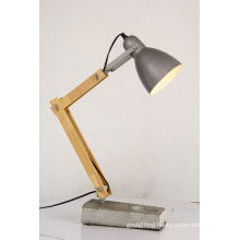 Hot Sale Decoration Wood Cement Table Light (GT6001-1)