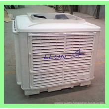 Evaporative air conditioning for industrial