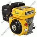 Motor a gasolina com 4-stroke, recolhimento e acionador de partida elétrico e 5.5 HP único cilindro